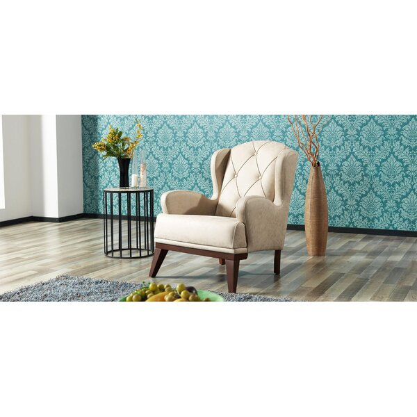 Yousef Bergere Armchair (Set of 2) by Everly Quinn