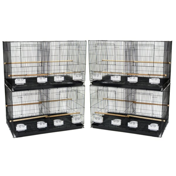 Lot of Four Medium Bird Cage with Divider by YML
