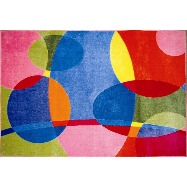 Supreme Groovy Dots Area Rug by Fun Rugs