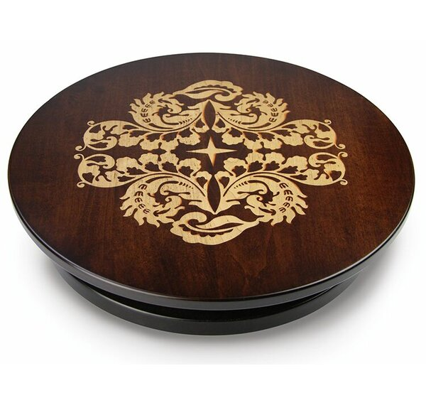 Artisan Woods Fern Leaf Lazy Susan by Martins Homewares