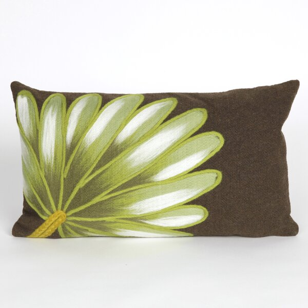 Epperson Palm Fan Outdoor Lumbar Pillow