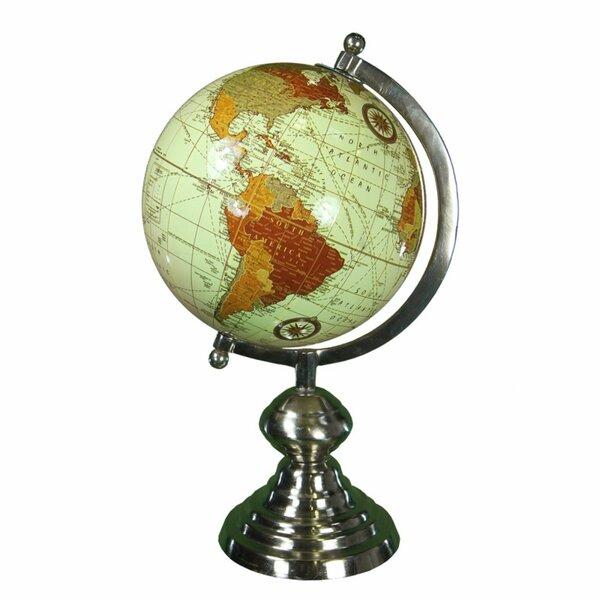 Aluminum Globe by Winston Porter