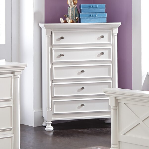 Jeffersonville 5 Drawer Chest by Darby Home Co