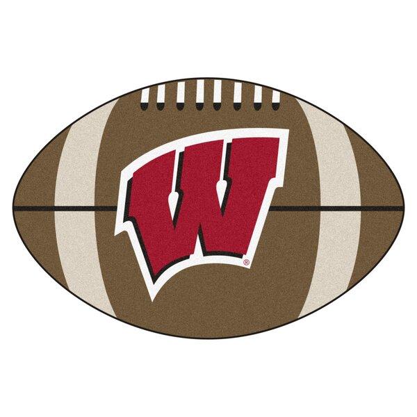 NCAA University of Wisconsin Football Doormat by FANMATS