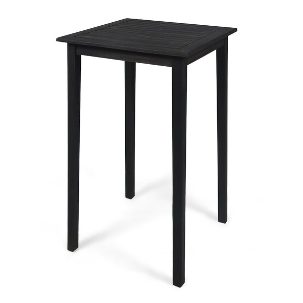Dominique Outdoor Minimalist Bar Table By Loon Peak by Loon Peak Great price