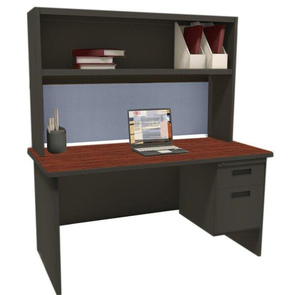 Crivello Executive Desk with Hutch by Red Barrel Studio