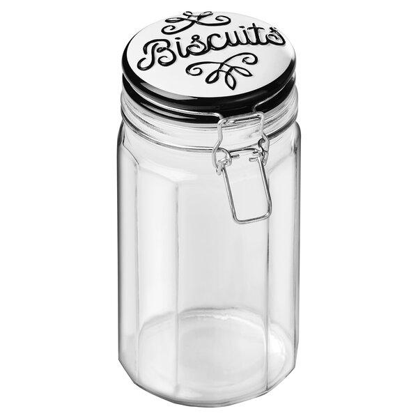 Bella 1.25 qt. Pet Treat Jar by Global Amici