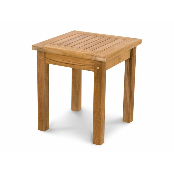 Lowery Solid Wood Side Table by Rosecliff Heights