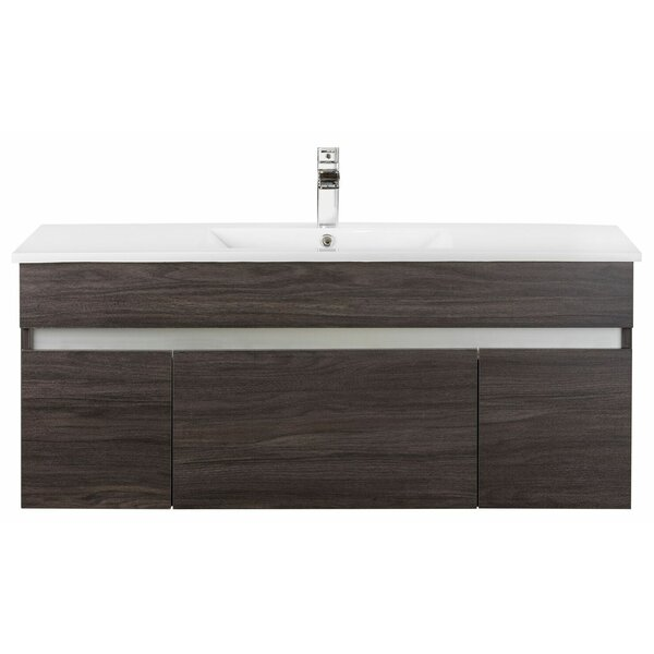 @ Ivory Floating 48 Single bathroom Vanity by Cutler Kitchen & Bath| #$1,140.00!