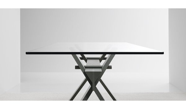 Portland Solid Wood Dining Table by YumanMod