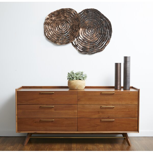 Moffitt 6 Drawer Double Dresser by Brayden Studio