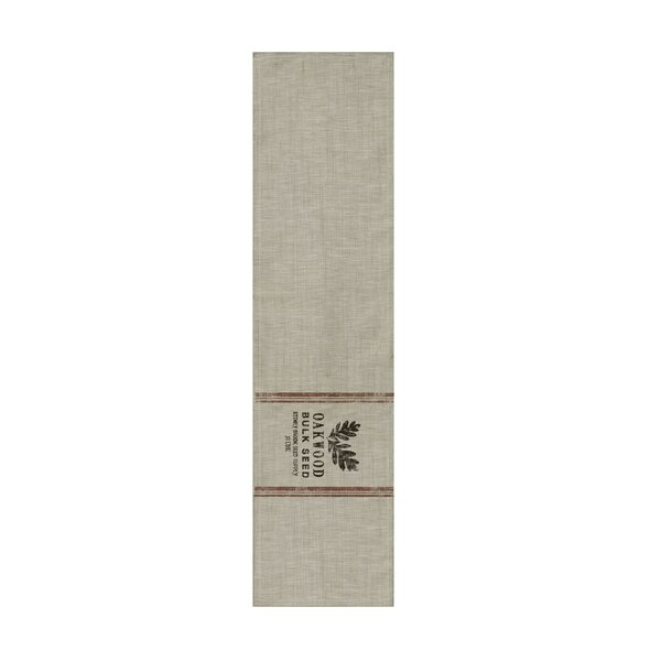 Taifa Seed Labels Runner by Gracie Oaks
