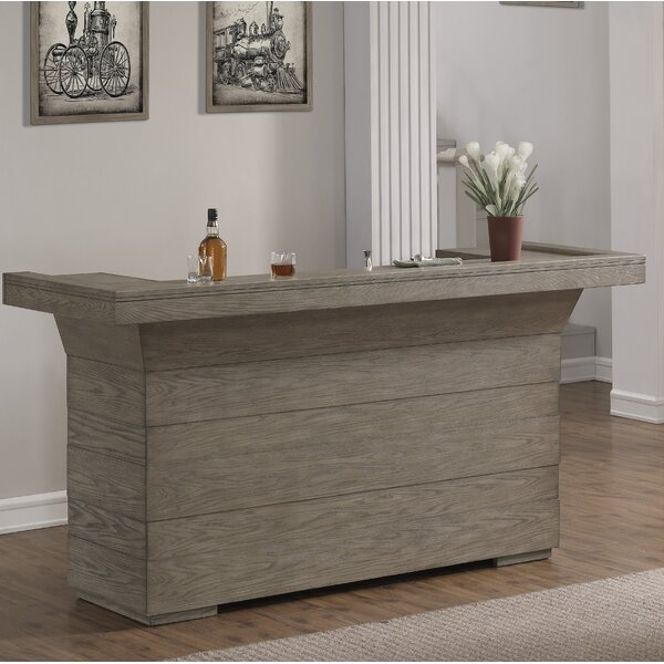 Arteaga Bar with Wine Storage by Foundry Select