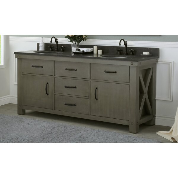 Cleora 72 Double Bathroom Vanity Set by Williston