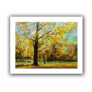 Shades of Autumn' by Michael Creese  Painting Print on Rolled Canvas by ArtWall