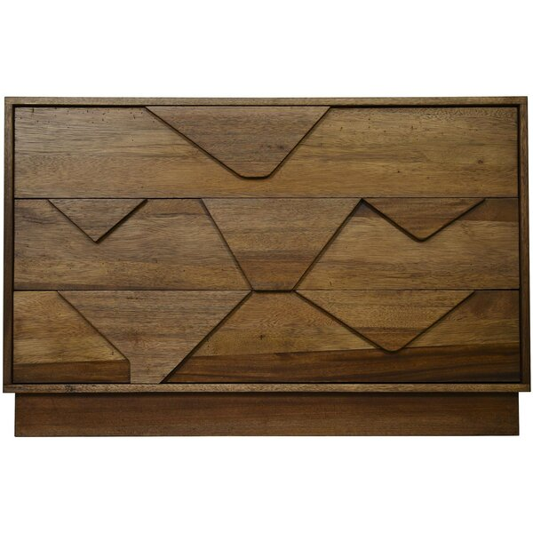 Cascata 3 Drawer Dresser by Noir