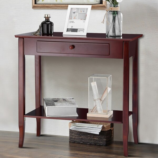 Review Wolverton 2 Tier Console Table