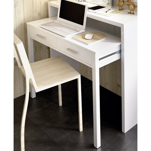 Calidia Extensible Consol Secretary Desk Mercury Row