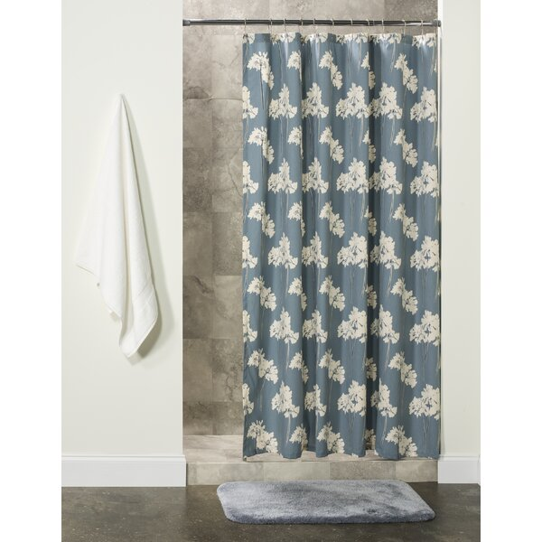 Nala Cotton Shower Curtain by Gracie Oaks