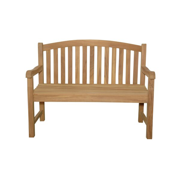 Chelsea 2-Seater Teak Garden Bench by Anderson Teak