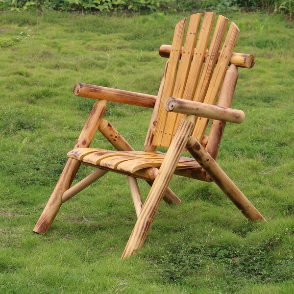 Romney Solid Wood Folding Adirondack Chair by Loon Peak Loon Peak