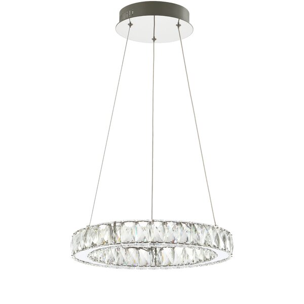 Mae Unique / Statement Geometric LED Chandelier by Mercer41