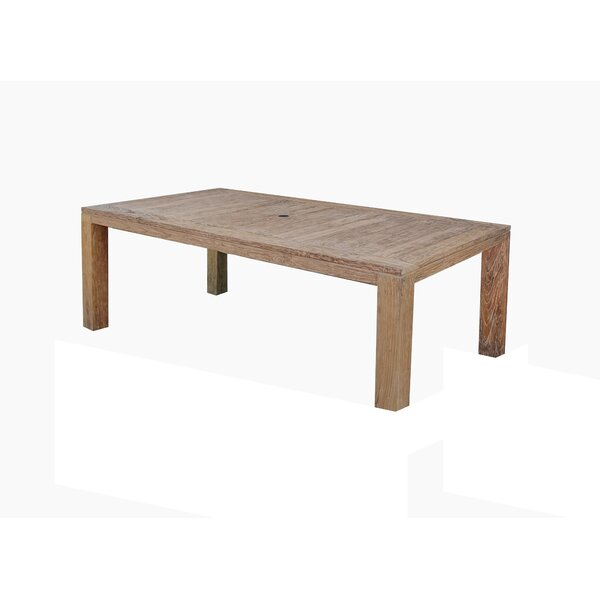 Pleasant Avenue Solid Wood Dining Table by Rosecliff Heights
