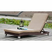 Chaise Lounge with Cushion by Orren Ellis Orren Ellis