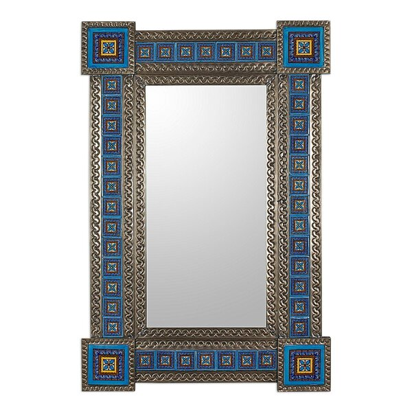 Talavera Accent Mirror by Novica
