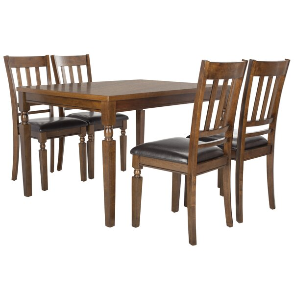 Boatner 5 Piece Dining Set by Loon Peak Loon Peak