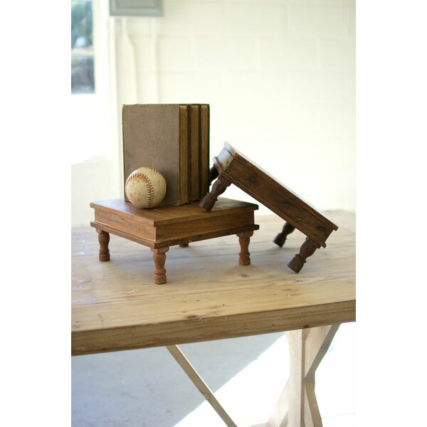 Recycled Wooden Riser by Kalalou