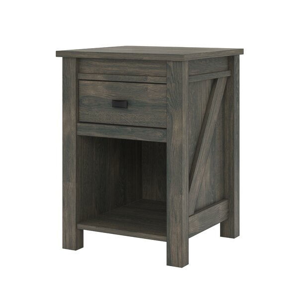 Minchinhampton 1 Drawer Nightstand by Three Posts