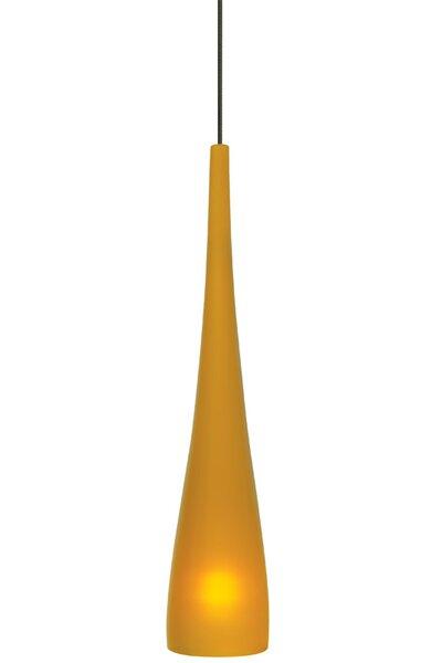 1-Light Cone Pendant by Ivy Bronx