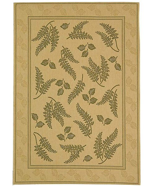 Amaryllis Brown/Tan Indoor/Outdoor Area Rug by Bay Isle Home