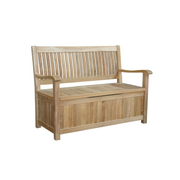 Del-Amo Teak Storage Bench by Anderson Teak
