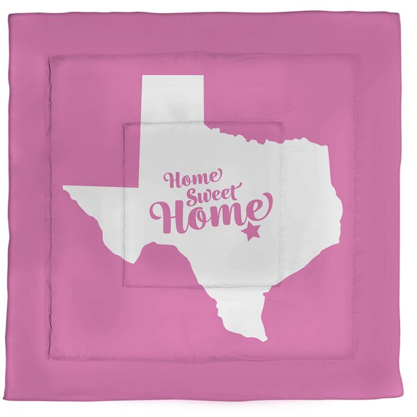 Austin Home Sweet Single Reversible Comforter