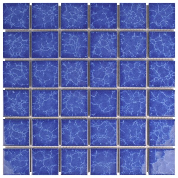 Waterfalll 2 x 2 Porcelain Mosaic Tile in Catalan by EliteTile