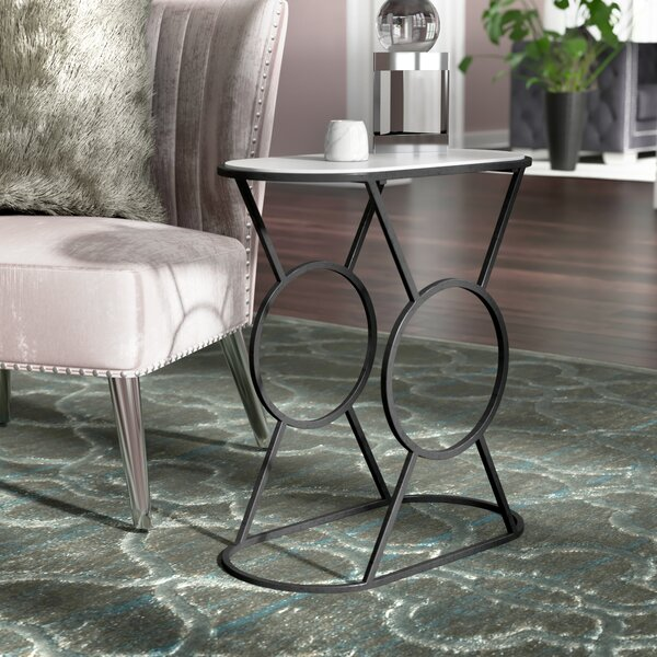 Sherise End Table by Everly Quinn