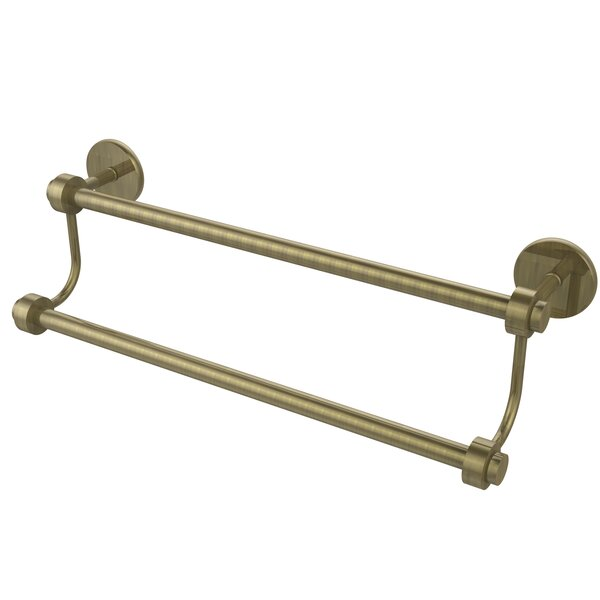 Universal Double Wall Mounted Towel Bar by Allied Brass