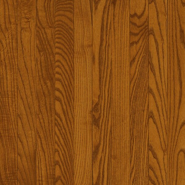 Dundee 2-1/4 Solid Red / White Oak Hardwood Flooring in Gunstock by Bruce Flooring