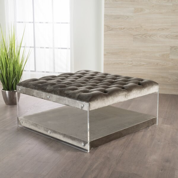 Terria Cocktail Ottoman by Everly Quinn