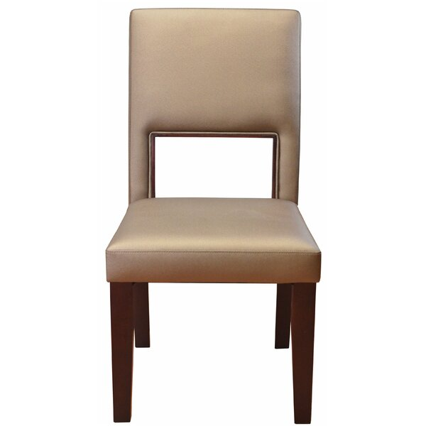 Beautiful Panoramic Upholstered Dining Chair by DHC Furniture DHC Furniture