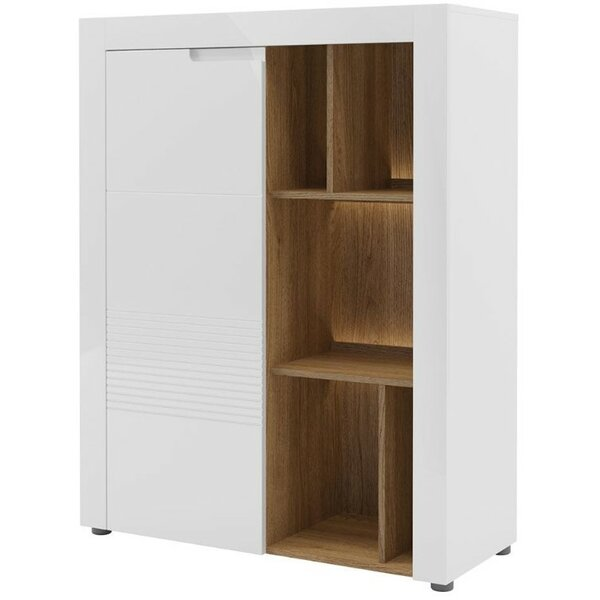 Weinmann Display 1 Door Accent Cabinet by Latitude Run Latitude Run