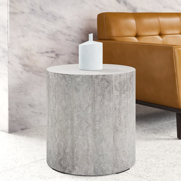 Odell Pedestal End Table By Upper Square™