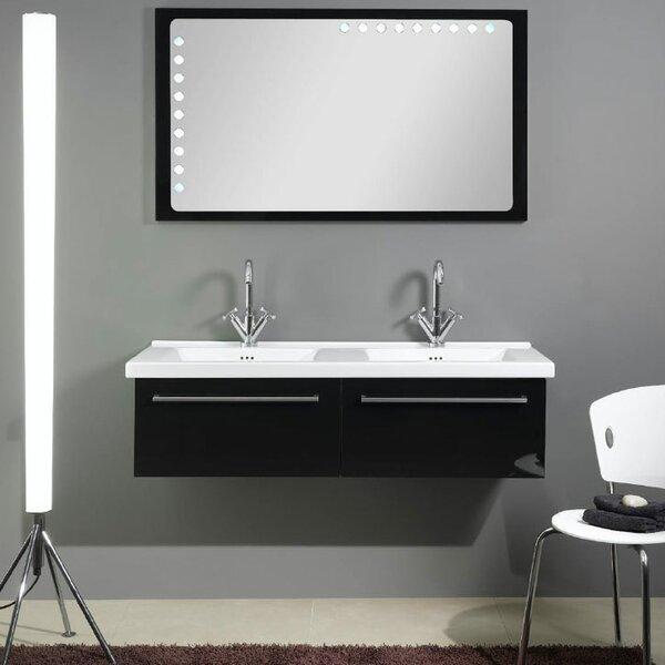 Fly 49 Double Bathroom Vanity Set with Mirror