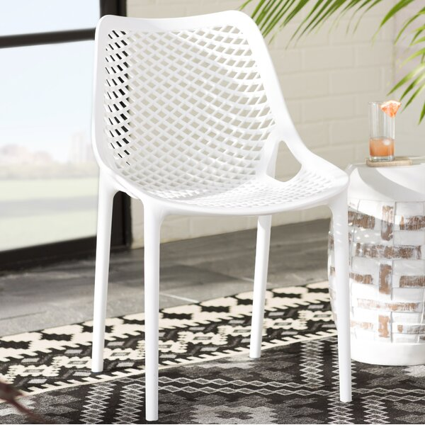 Curnutt Stacking Patio Dining Chair (Set of 2) by Mercury Row