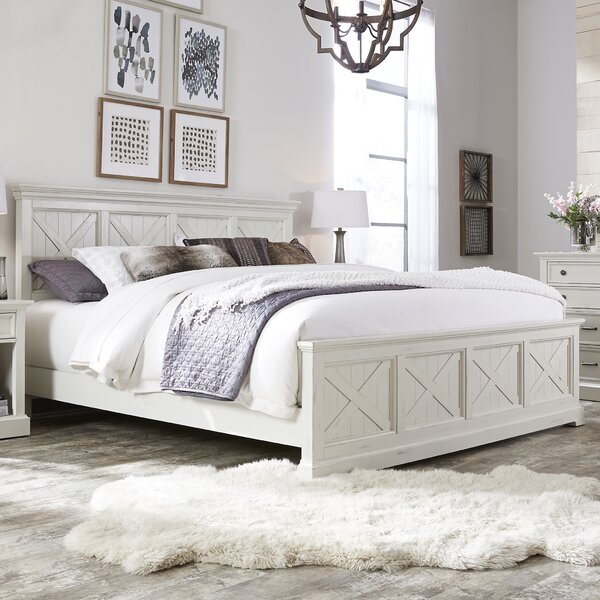 Moravia Standard Solid Wood 4 Piece Bedroom Set by Laurel Foundry Modern Farmhouse