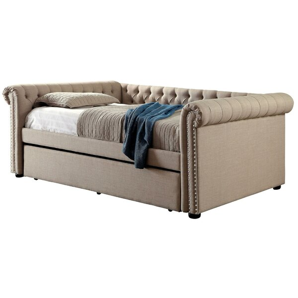 Check Price Aderdour Full Daybed With Trundle