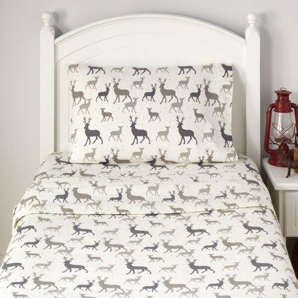 My Darling Deer Flannel Sheet Set by Birch Lane Kids™