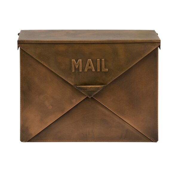 Wall Mounted Mailbox by Woodland Imports